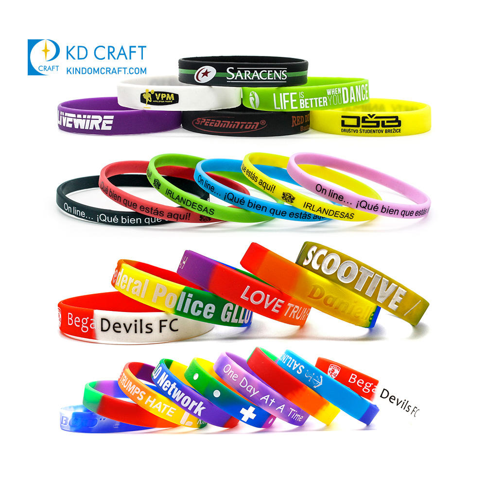 Free sample bulk cheap recycled custom logo printing write on thick adjustable id basketball silicone bracelet wristband