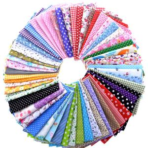 10x10cm 50pcs/set Cotton Fabric Printed Cloth Sewing Quilting Fabrics for Patchwork Needlework DIY Handmade Accessories