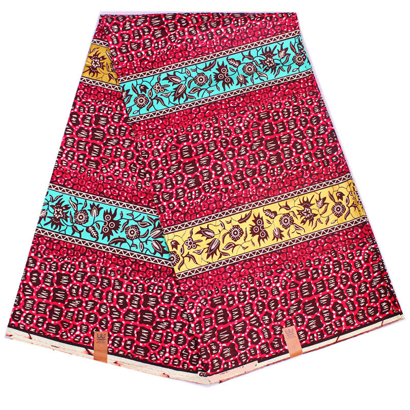 African Hitarget Real Wax Prints Ghana Style Colorful Super Real Ankara Pattern Fabric