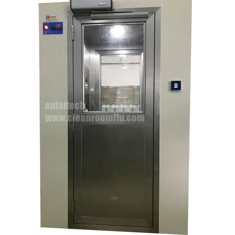 China GMP standard clean room industrial air shower