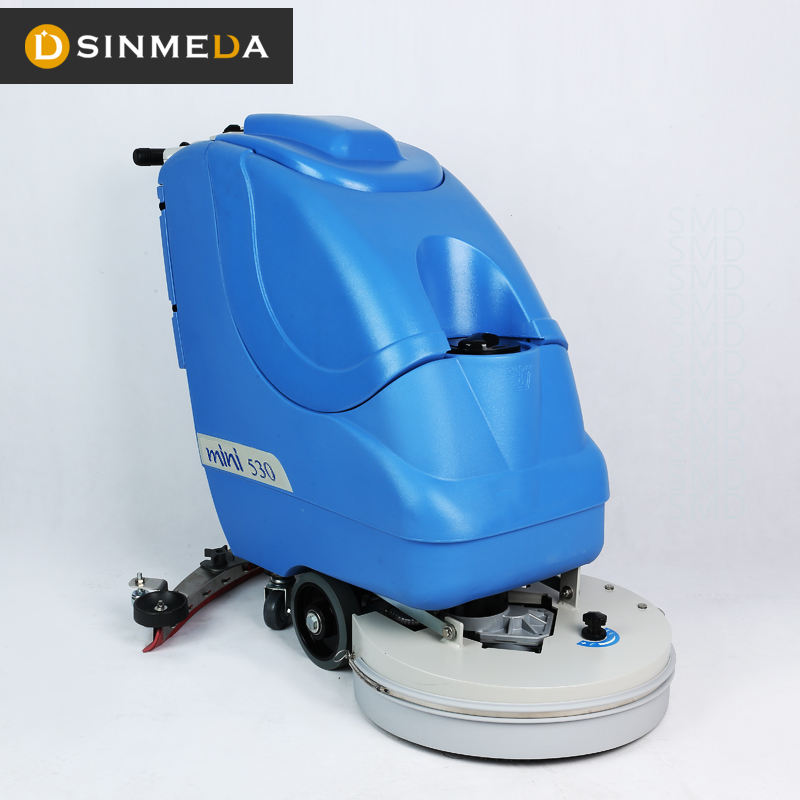 Stock available popular hand held electric floor scrubber for Street Cleaning Machine