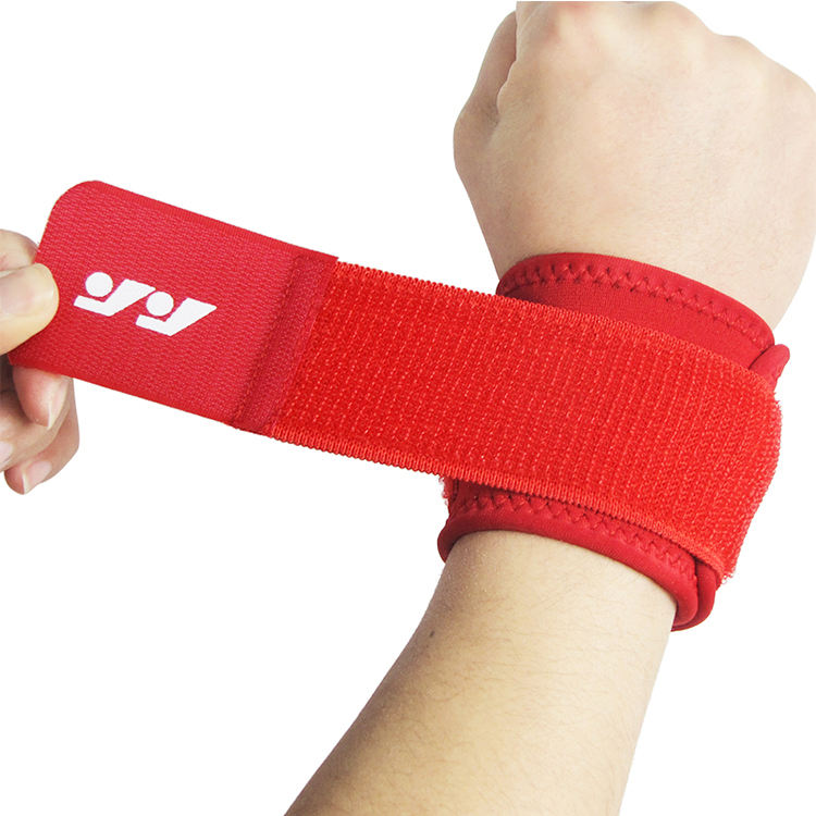 Comfortable Sports gym wrist bandage custom wristbands