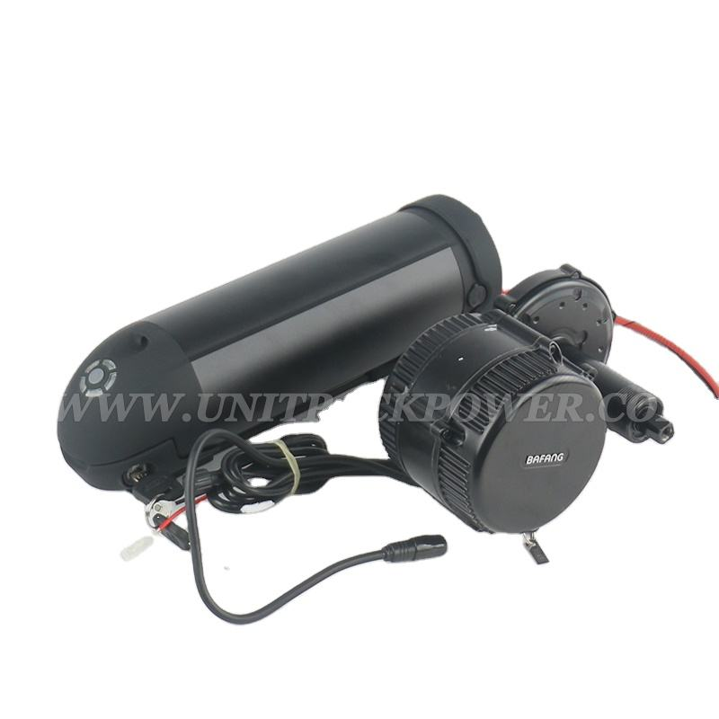 Best DIY Match 48V 750W E-Bike Conversion Kitは8Fun Bafang BBS02 750W Mid Drive Motor 13Ah 48V Lithium 18650 Battery