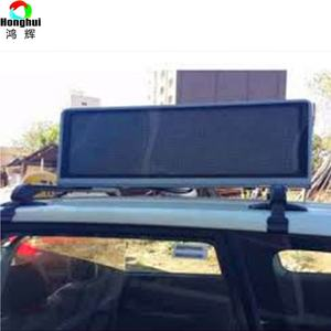 Outdoor P4mm P5mm Programmierbare WIFI 3G Taxi Top LED/Taxi Top LED Screen/Werbung Display für Taxi