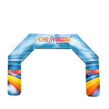 RTS Shop 5M custom outdoor event exhibition oxford race start finish inflatable arch