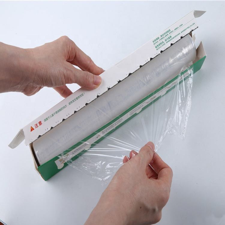 Stretch Film Polyester Laminating Pouch Masking Film PE stretch wraps Food Grade Cling Film for Lock Food Fresh