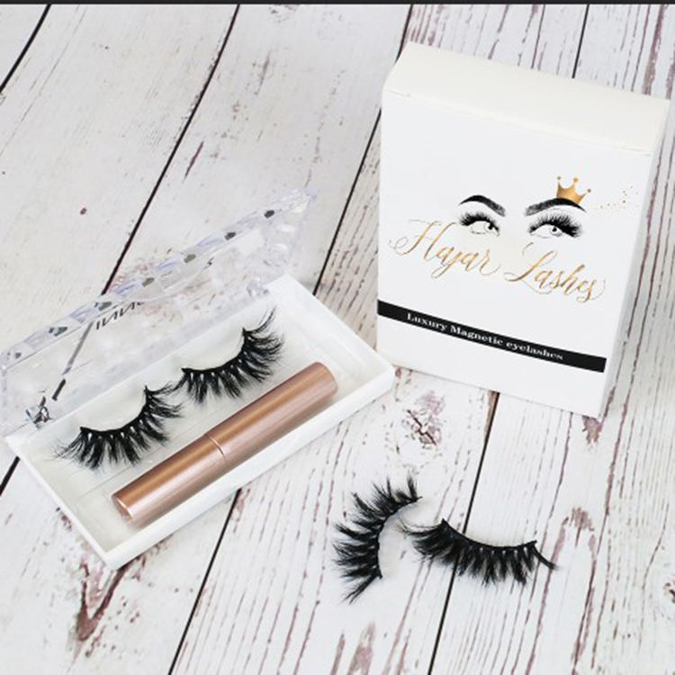 Its Our Factory 5 Magnetic Eyelashes And Magnetic Waterproof Liquid Magnet Eyeliner Magnetic Eyelash Curler