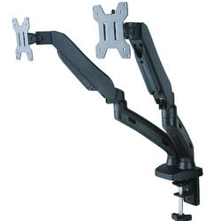 Aluminum Arm Dual Computer Screen Flexible LCD Monitor Mount Stand