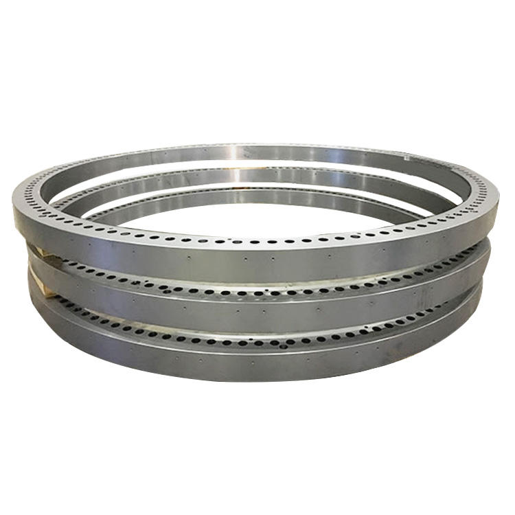 Customized Super large Seamless stainless steel forged ring hot rolling heavy solid solution Forging Parts