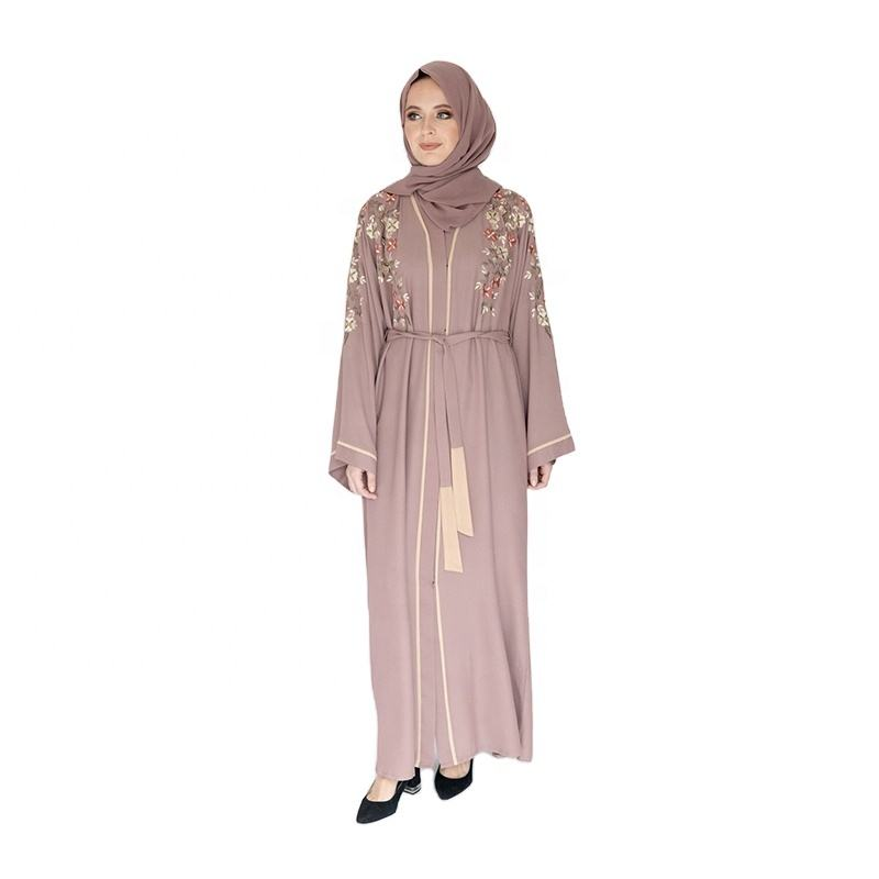 Dubai Dress Muslim Black For New Women Kaftan Islamic Hijab Long Fabric And Boys Velvet Silk Designs Robe Style Muslimah Abaya