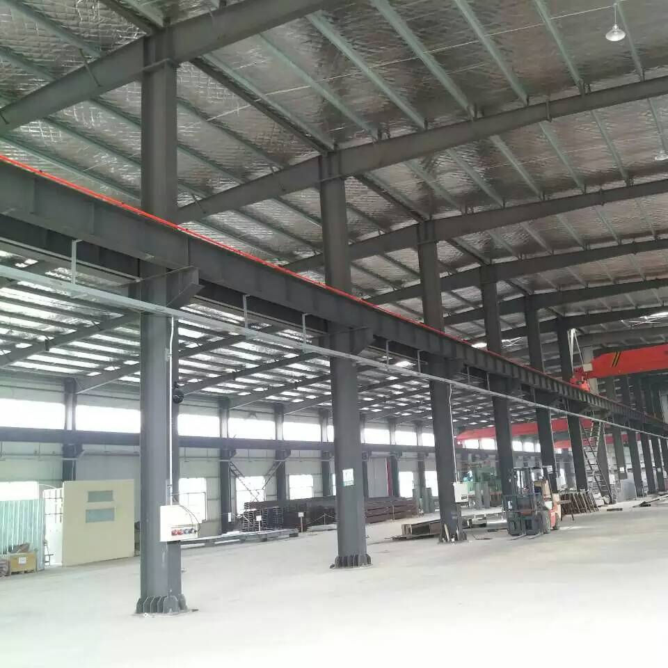 Car Parking Steel Bean Structure Fabrication Office Building Warehouse