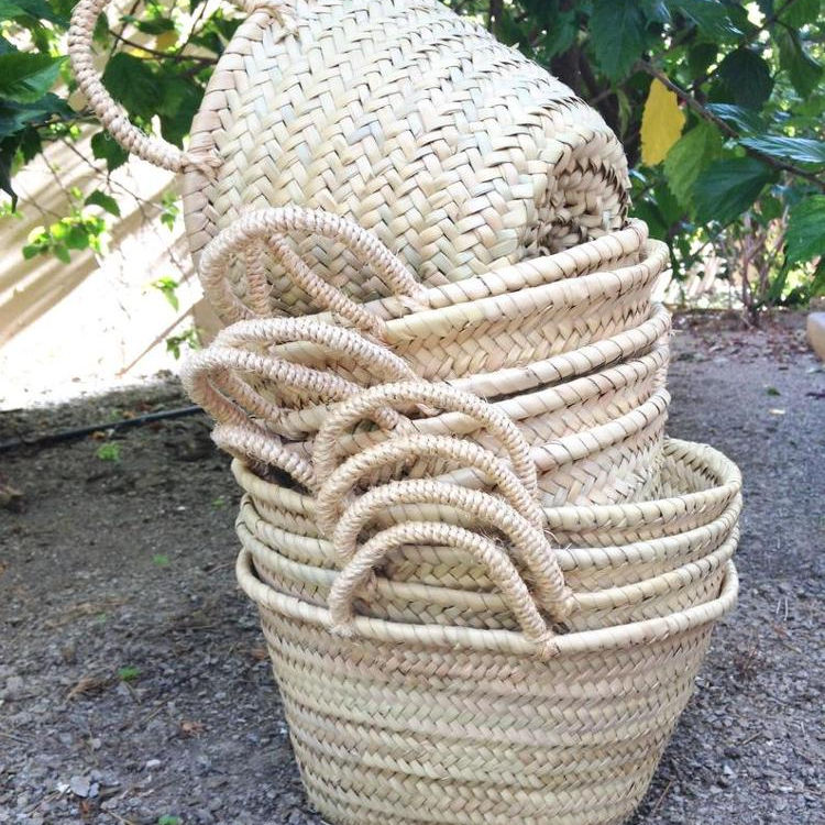 Moroccan Straw Baskets