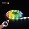 12V DC Double PCB Controller Light LED Strip Flexible, Bluetooth Dimmable 5m/roll IP20 5050 Wifi Smart RGB LED Strip