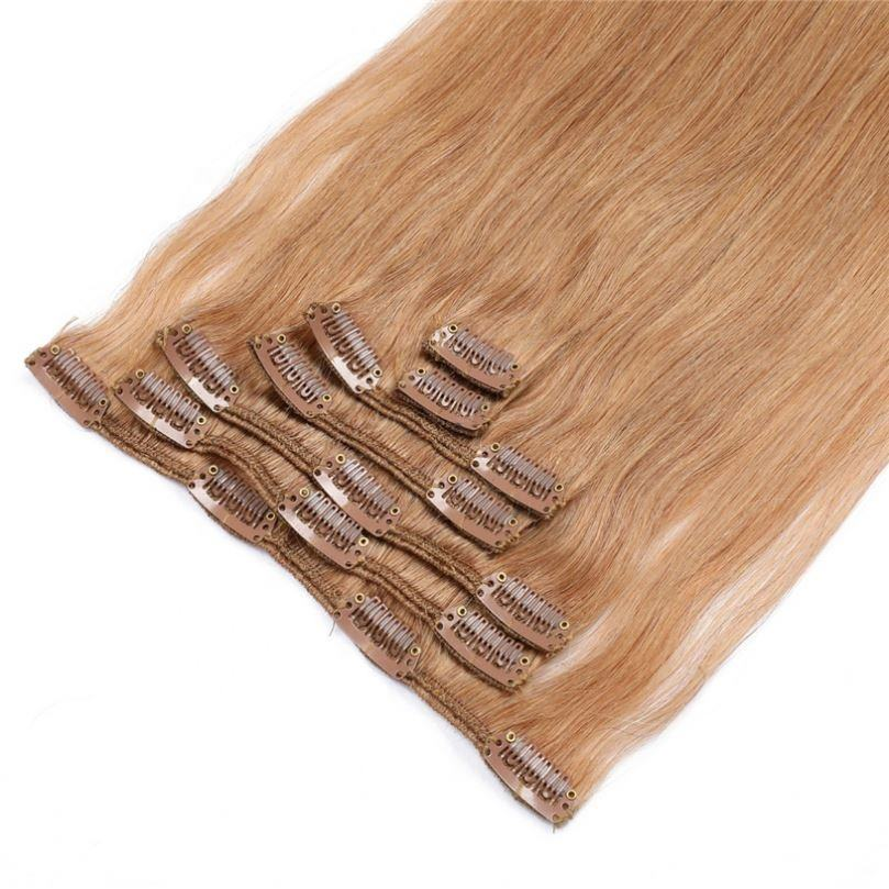 Best Quality Tangle Free Shedding Free European 613 Blonde 100% Human Remy PU Clip Hair Extension