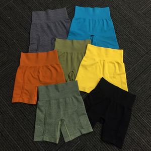 Damen Schweiß Saugfähigen Kompression Läuft Shorts Gym Sport Atmungsaktive Womens Yoga Shorts