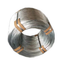 Hot dipped galvanized steel wire factory ! q195 q235 12/ 16/ 18 gauge electro galvanized gi iron binding wire