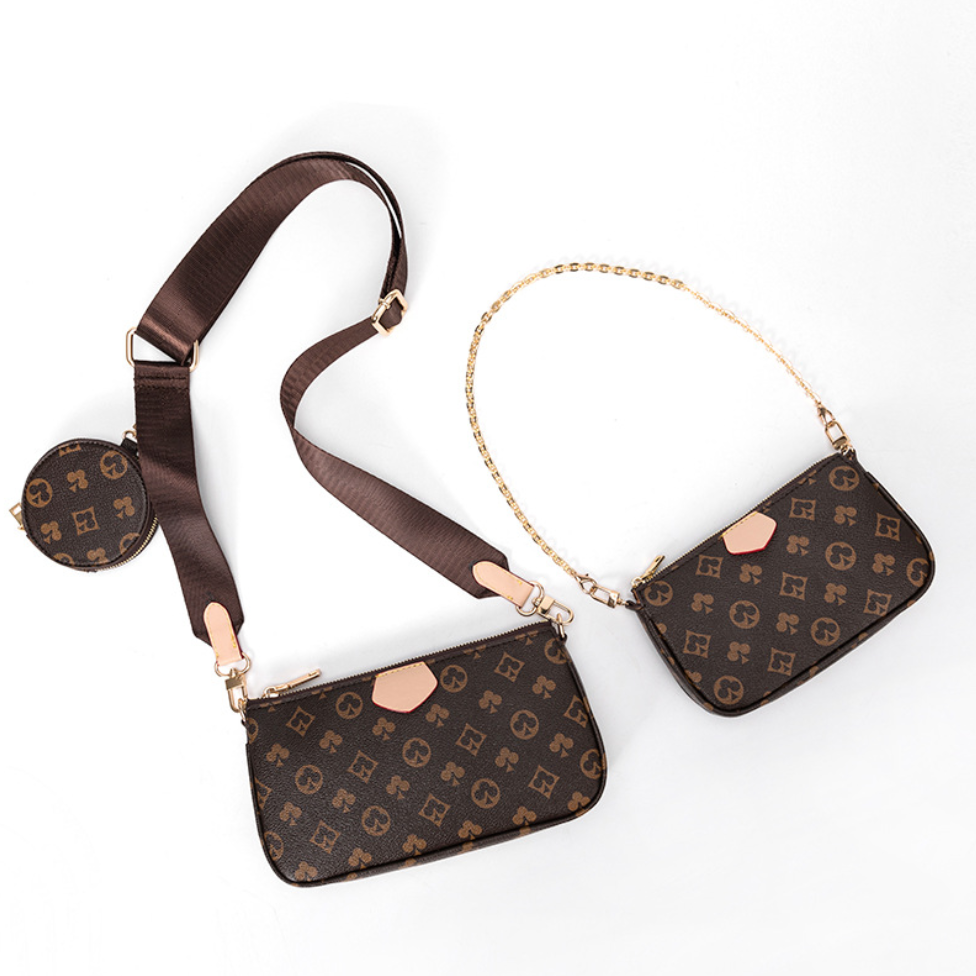 Lv louis vuitton Pu deri 3 in 1 Loius vuitton <span class=keywords><strong>çanta</strong></span> ve Crossbody <span class=keywords><strong>çanta</strong></span> omuz <span class=keywords><strong>çanta</strong></span>ları