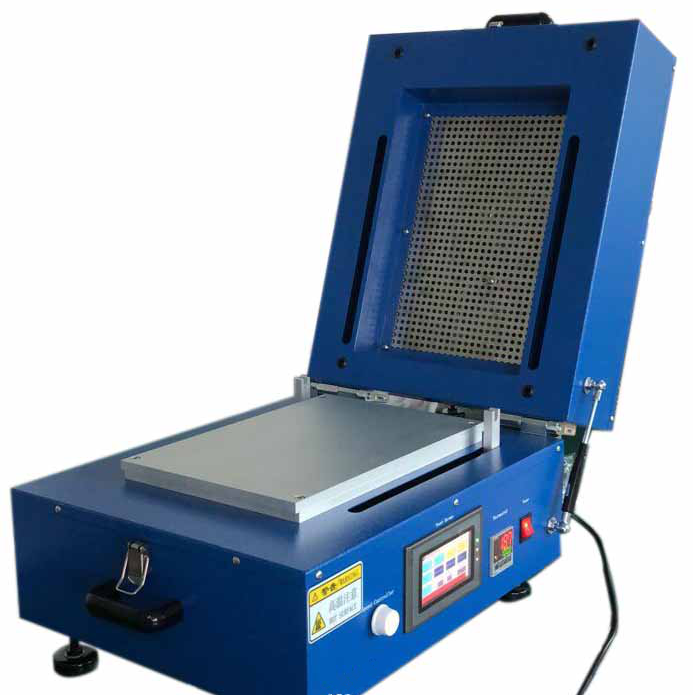 Battery Electrode Heat Vacuum Film Coating Coater Machine Blade Coater With Drying Cover&Programmable Controller