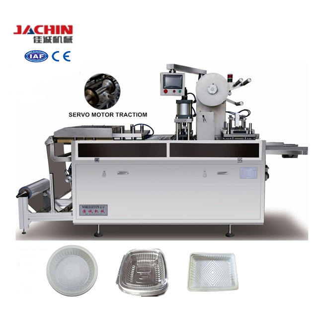 JC-500C Plastic Fast Food Box Product Type PS Plate Making Machine