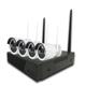 Cctv Camera Security Camera 4CH 2MP JC Hot Sale WIFI NVR Kit Security Cctv Camera Security System Kit