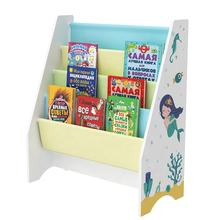 Portable Children Magazine Kids Sling Book Storage Rack Bookcase Bookshelf