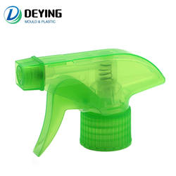 28mm Plastic Manual Water Sprayer Bottle Trigger Nozzle Mold