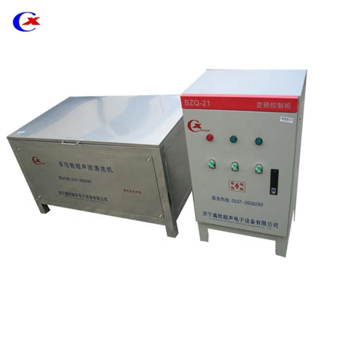 Xc-6000 ultrasonic cylinder, radiator and parts cleaning machine