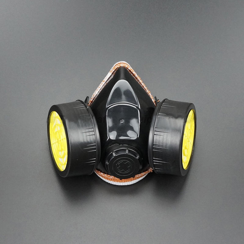 Best-selling half face Chemical mask respirator smoke mask with gas filters