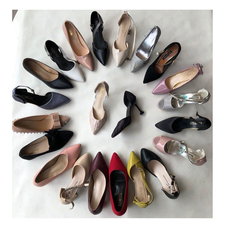 Women Ankle Strip Elegant D'Orsay Closed Pointed Toe Pumps High Heel Court Shoes