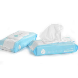 Kitchen Spunlace Nonwoven Wet Wipes With APG Formula
