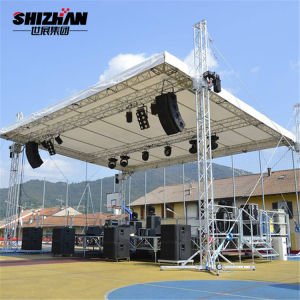 guangzhou universal customized music show stage truss led screen lights truss system