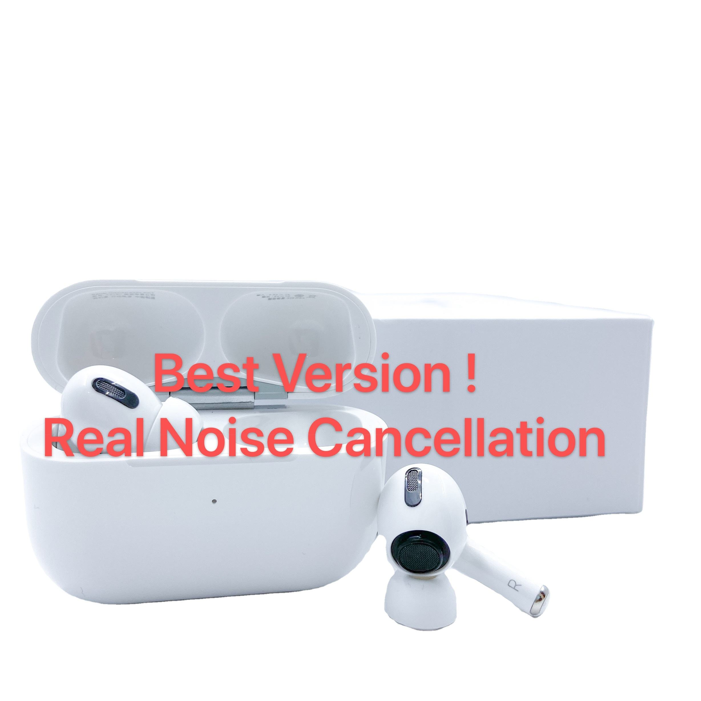 Best ANC Spatial Audio Apple AirPods Pro TWS Wireless Earphones Headphones For iPhone AirPods 2 With Setting Serial Number