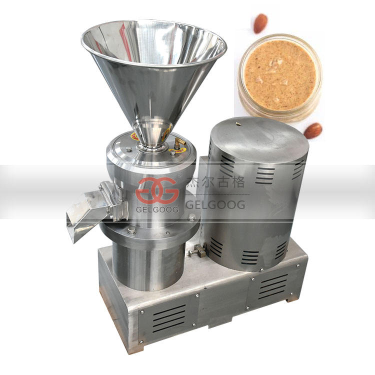 Peanut Almond Butter Colloid Mill For Foods Nut Paste Machine