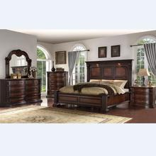 Carved solid wood bedroom furniture king size and queen size bed bedroom set WA193