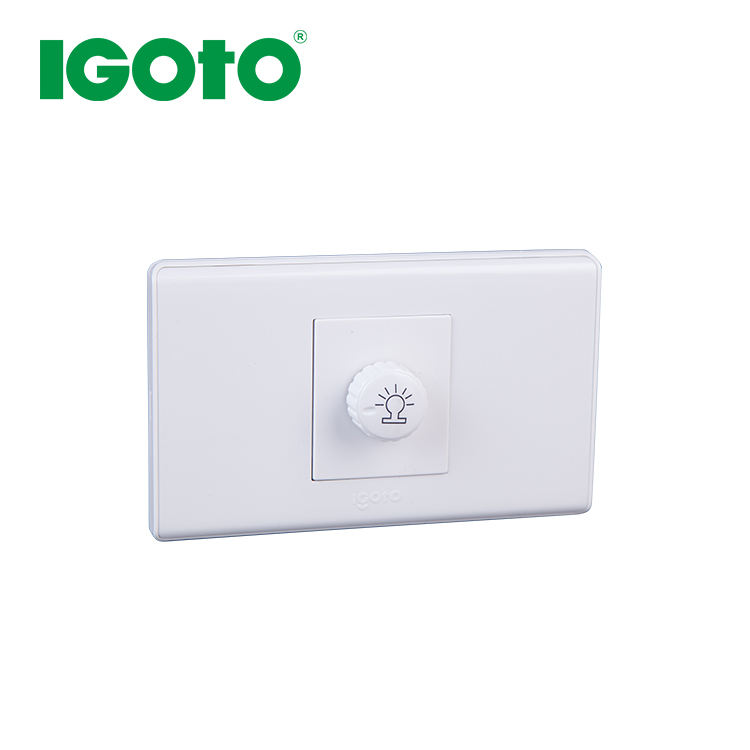 A2081 American Standard <span class=keywords><strong>Gaya</strong></span> Baru 1G Light Dimmer Dinding Switch
