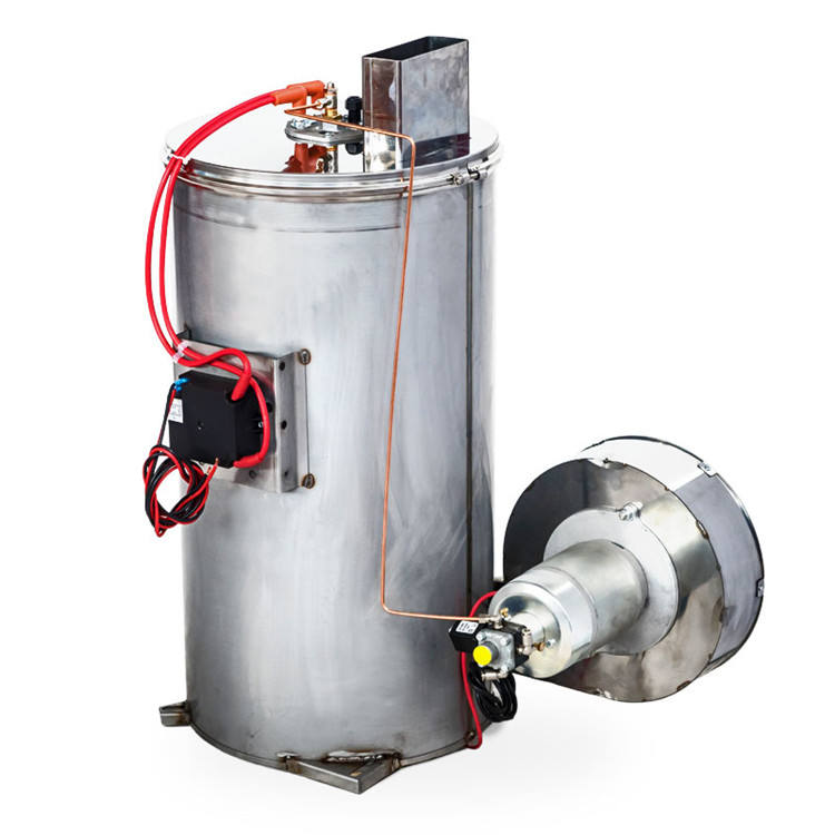 MAZZONI 25 l/min 12 V 250 Bar Diesel Water Heater Industrial Heating Equipment