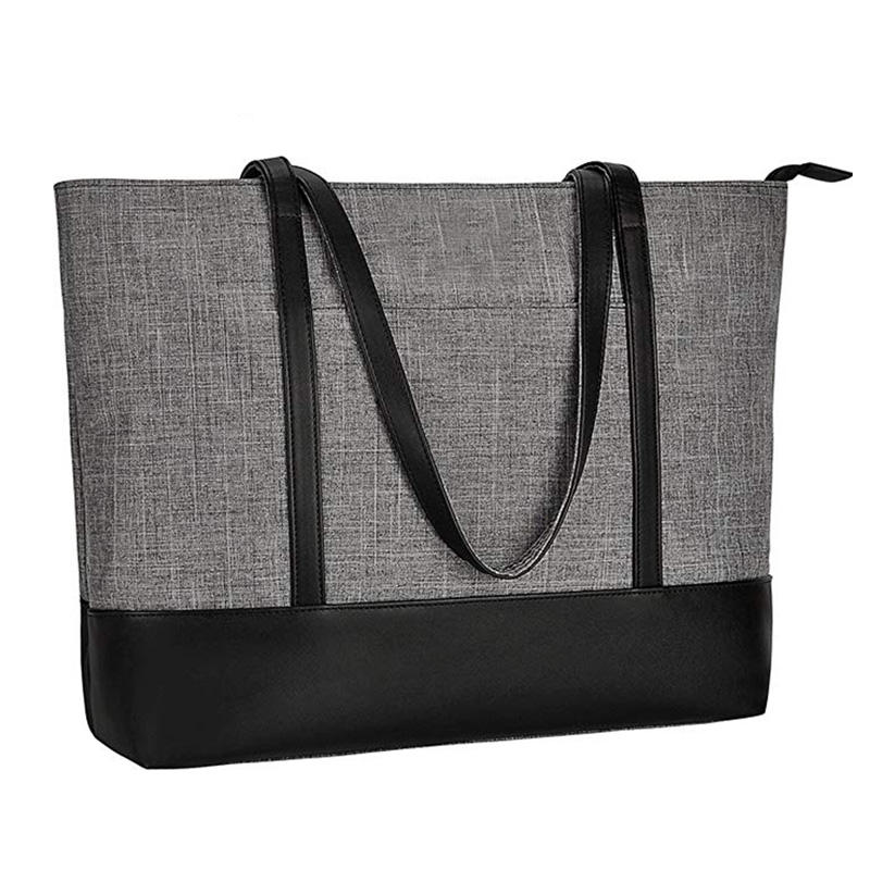 Lightweight Water Resistant Laptop Tote Bag Women Polyester Tote bags Women Hand Tote Bag