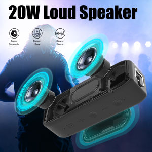 20W Loudspeaker Box Great BT Hifi Stereo High Quality Mini dj Portable Wireless Bluetooth Speakers