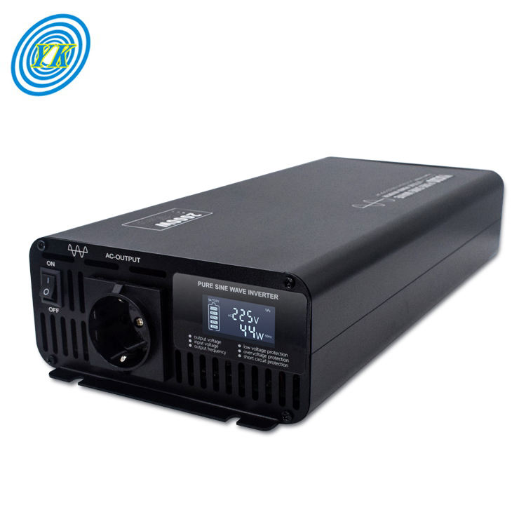 Pure Sine Wave [ Inverter ] 4000w Inverter Mini 1000w 2000w 3000w 4000w Pure Sine Wave Portable Car Power Inverter
