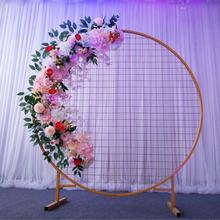 Wholesale Fashion  Round Arch Backdrop, Wedding Arch Stand Round Circle Backdrop for Wedding Decoration/