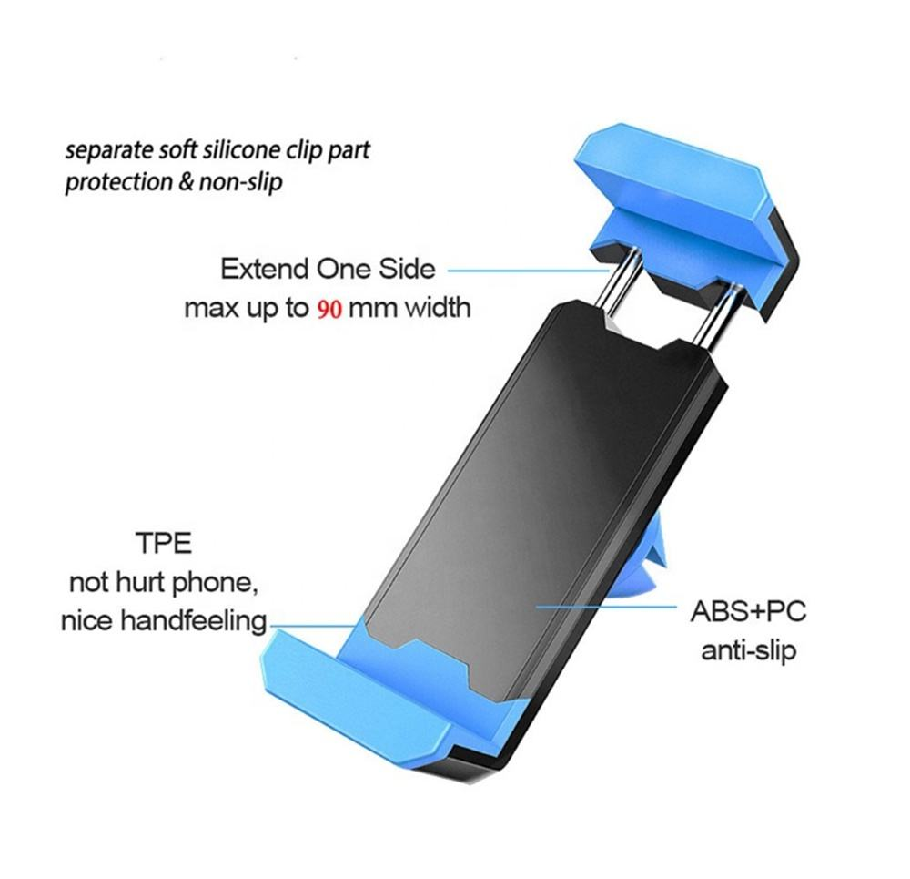 Universal Car Phone Holder in Car Air vent Mount holder for iphone 12 Plus X XS XR MAX Support Mobile Phone Car holder stand