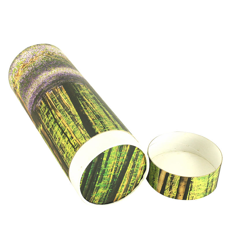 Custom Printed Paper Cat Biodegradable Ash Scatter Tube Urn