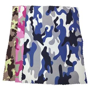 TOPDIVE High Quality Camouflage Neoprene Sheets Polyester Nylon Fabric Laminated Neoprene For Sale