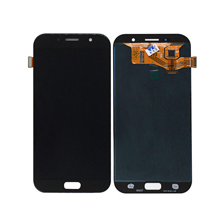 Display Touch screen A7 2017 A720 LCD con digitalizzatore assembly per samsung galaxy galaxy a7 2017 dello schermo originale