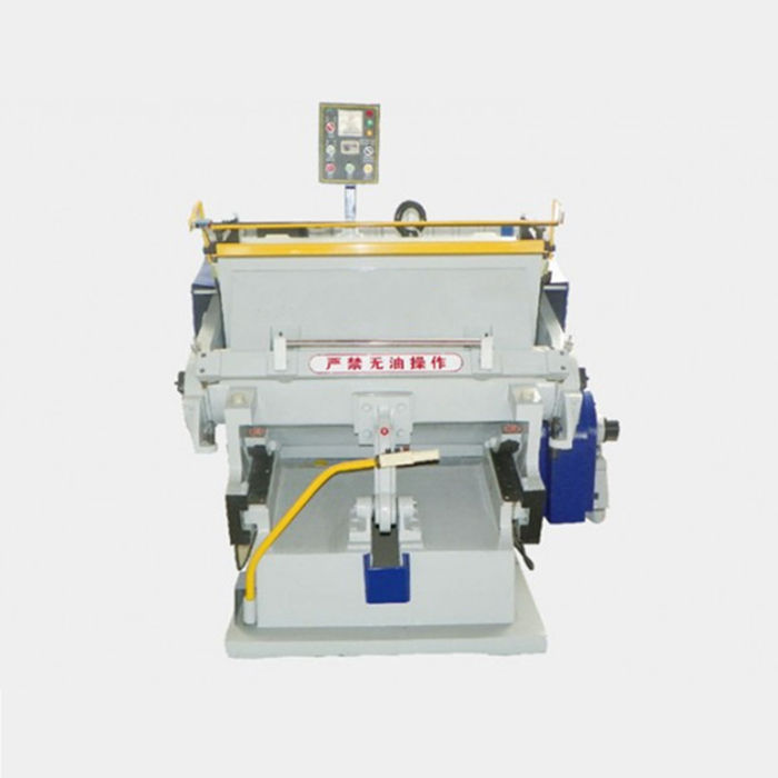 ZH MY 750 Min Clamshell Die Cutter / Crest Clamshell Diecutting Press Machine For Sale