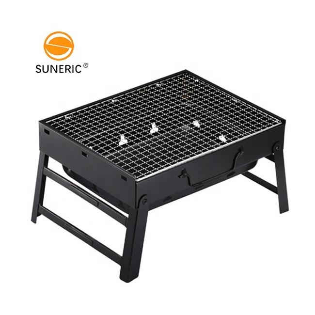 Portable charcoal barbecue mini outdoor folding stainless steel charcoal bbq grills for sale