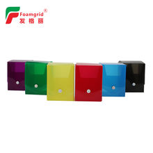 New style Custom logo print and size PP plastic Packaging Box for Card packaging