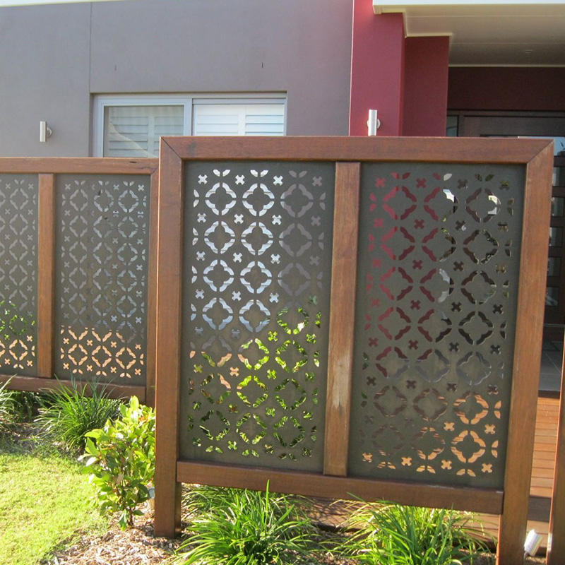 Customized Laser Cut Facade Panels Curtain Walls