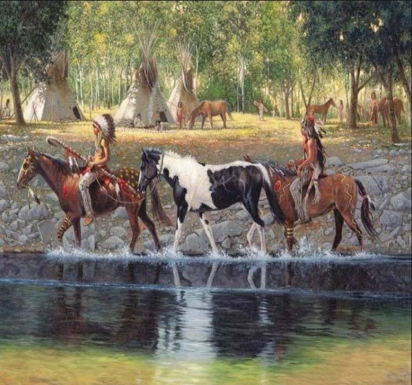 chenistory DZDP933 horses animals DIY 5D Diamond Painting Kits Full Drill Rhinestone Embroidery Pictures Cross Stitch artwork