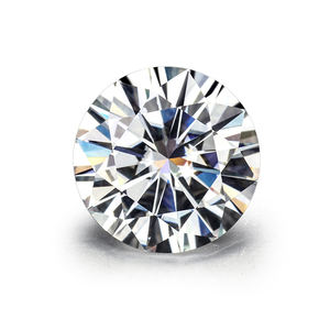 Starsgem Wholesale 1 Ct 6.5mm Def Diamond Loose Gemstones Price Per Carat Vvs White Round Brilliant Cut 6.5 Mm Stones Moissanite